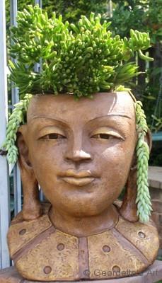 Flowering Buddha