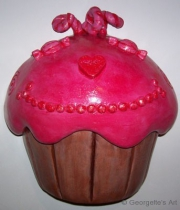 Cup cake at home
