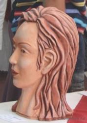Vrindah's head