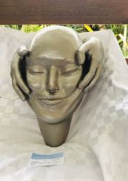 Jeannettes-clay-head-relief