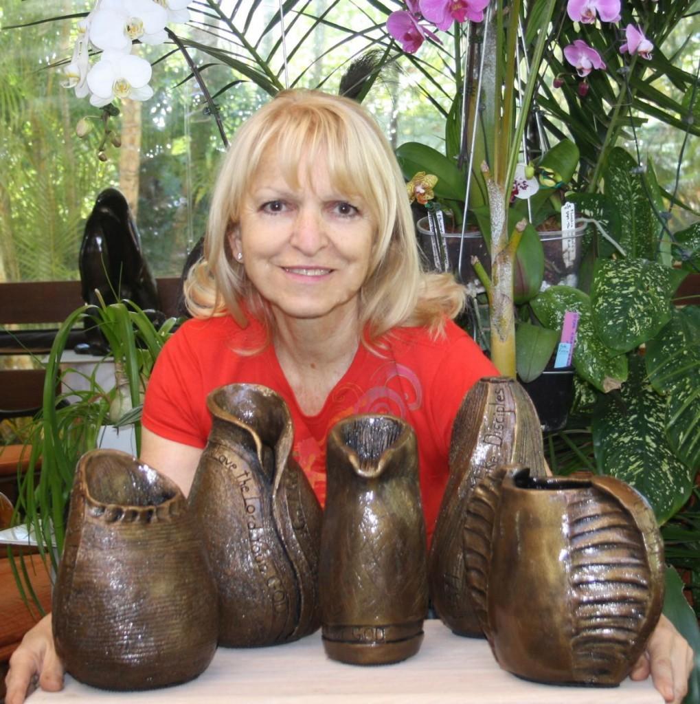 River of Life pots & me
