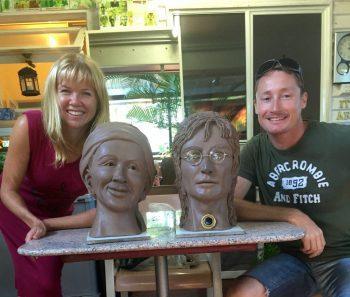 Amy & John with John Lennon